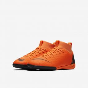 Детские футзалки NIKE MERCURIALX SUPERFLY VI ACADEMY GS IC AH7343-810 JR